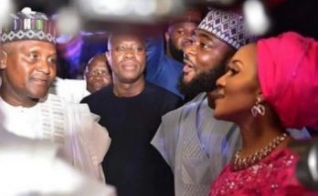 Dangote Wedding