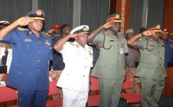 Service chiefs