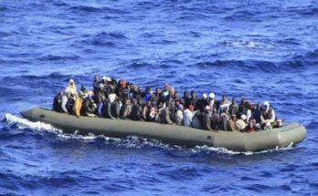 Africans immigrants rescued