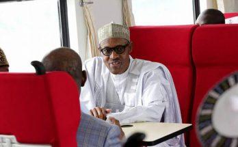 Buhari-in-Train