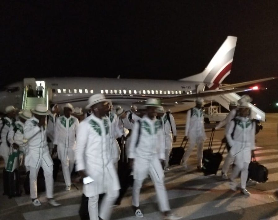 Super Eagles arrive Russia for World Cup (Photos) ~ News ...