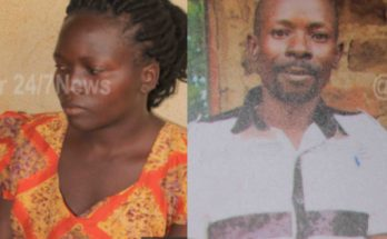 Lady beheads husband