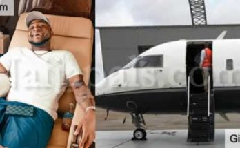 Davido private jet