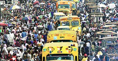 Lagos traffic jam