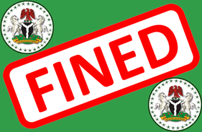 Fined