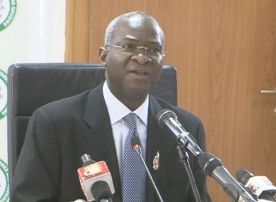 Image result for Backyard, unsuccessful economists criticising FG's borrowings —Fashola