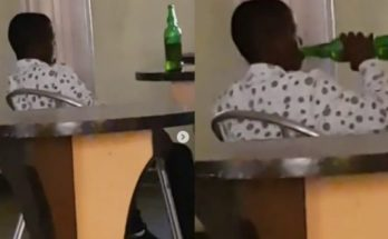 Nigerian man shocked as 13-year-old boy buys 4 bottles of beer and drinks it all