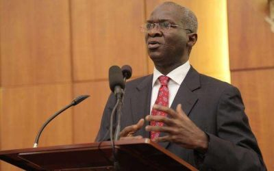 Prioritise road construction allocation - Fashola tells Senate