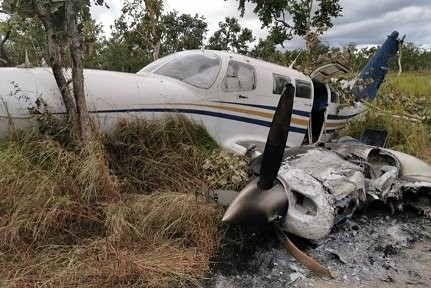 Plane overloaded with cocaine crashes on take-off