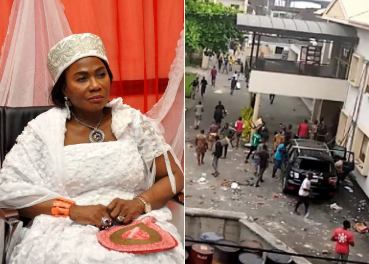 #EndSARS: Desecration Of Oba Of Lagos Palace Was Inevitable – Erelu Abiola Dosunmu
