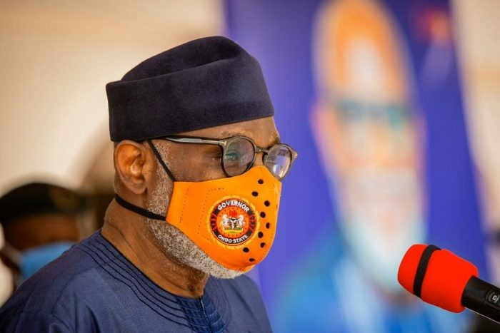 Gov. Akeredolu takes oath of office today to begin second term