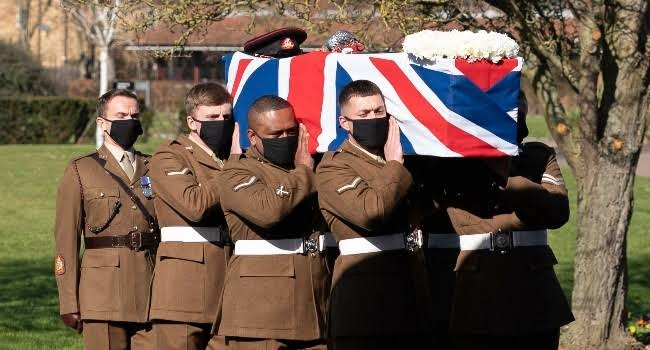 Britain bids farewell to pandemic hero Captain Tom Moore