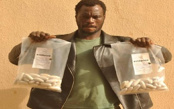Transborder drug trafficker arrested with N1bn worth of cocaine