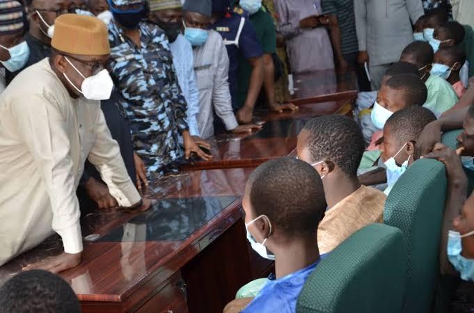 Kagara students exchanged for 4 jailed bandits - Reports