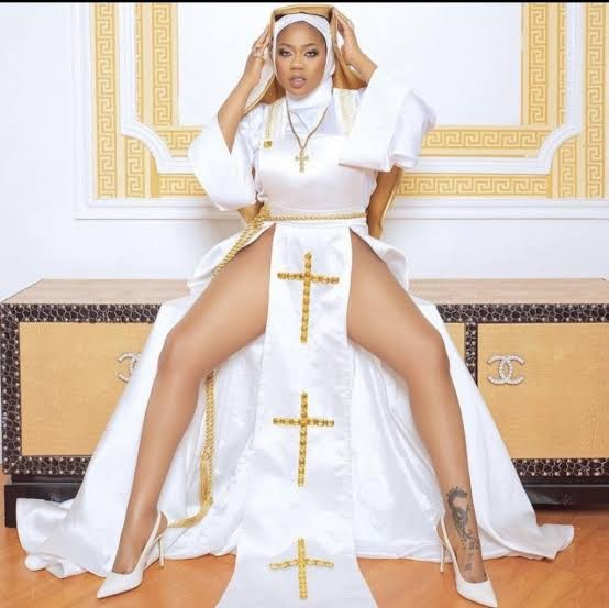 I won't apologise over nun outfit – Toyin Lawani