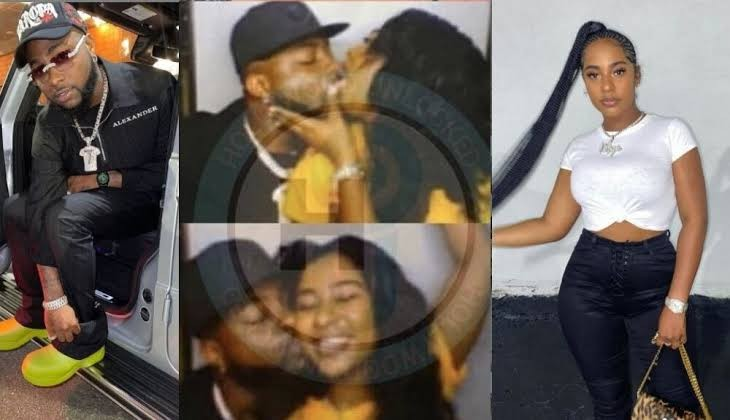 Davido's alleged girlfriend Mya Yafai deactivates IG account after photo of her kissing the singer went viral