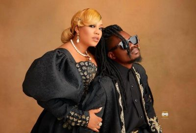 Toyin Lawani unveils her fiance in pre-wedding photos