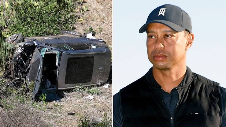 Los Angeles police reveal cause of Tiger Woods crash