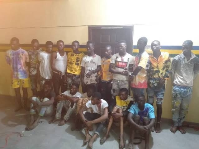 17 robbery suspects terrorising Ibeju Lekki arrested