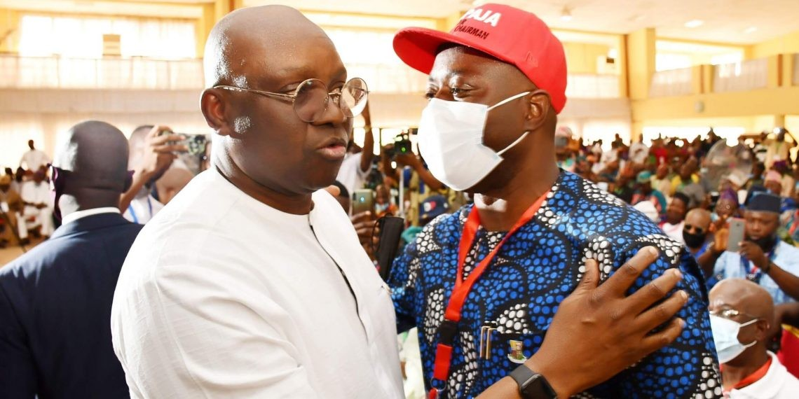 Makinde looks quiet, but he's deadly — Fayose