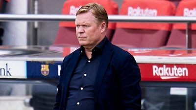 Barcelona to appeal Koeman's suspension